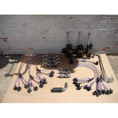 Ordenhadeira canalizada com 6 conjuntos- Unidade final em inox 304