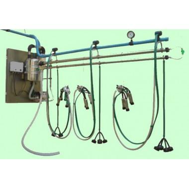 Sistema para canalização (para 4 conjuntos)