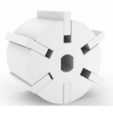 Rotor com Palhetas para Bomba de transferencia do leite - Monofásica (bomba de transferência do balde)