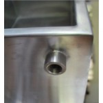 Pasteurizador e processador com tampa 100 lt  para leite e queijos