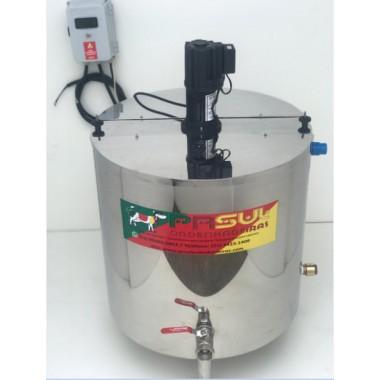 Pasteurizador de 100 lt para Calda de Sorvete