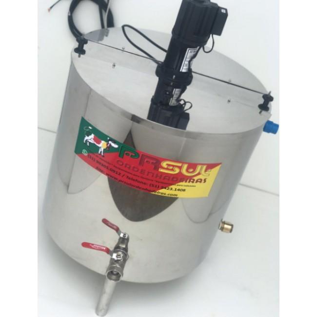 Pasteurizador de 150 lt para Calda de Sorvete