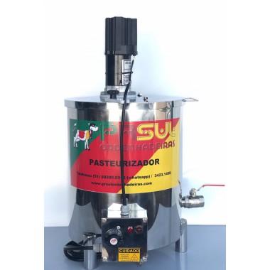 Pasteurizador de 20 lt para Calda de Sorvete