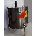 Pasteurizador e processador 500 lt de leite- Elétrico e com Moto agitador automático