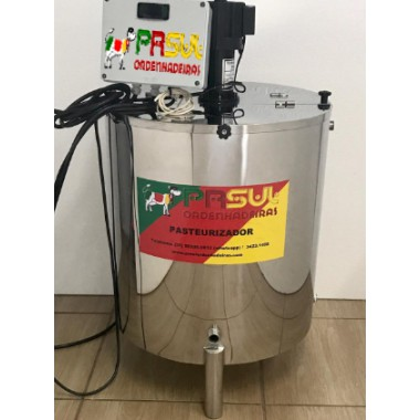 Pasteurizador de 150 lt para sucos