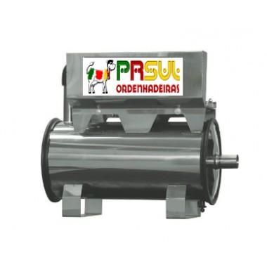 Depósito de vácuo Inox de 20 lt com esticador e protetor de correia