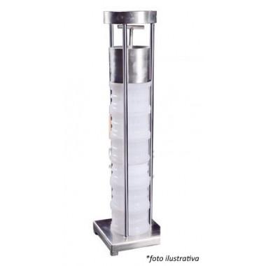 Prensa de inox 304 Mecânica manual simples para até 10 formas
