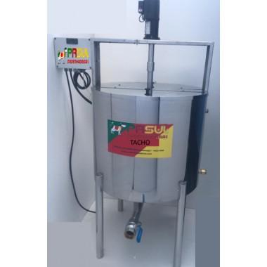 Tacho de cozimento e aquecimento de 200 lt