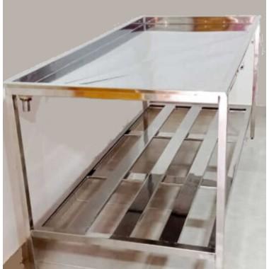Mesa de inox 304 para queijos- Escolha